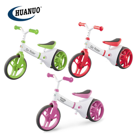 New Kids Plastic Promotional Sport Toys Balance Ride on Bike Toy
