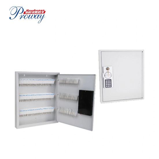 60 Keys Secure Steel Digital Key Cabinet with Electronic Keypad Lock Key Tags Included