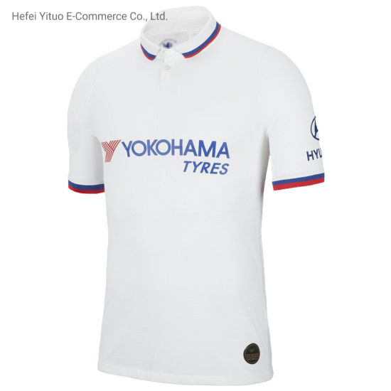 OEM Pedro Fully Printed Comfortable Chelsea Polyester Soccer Suits Jerseys pictures & photos