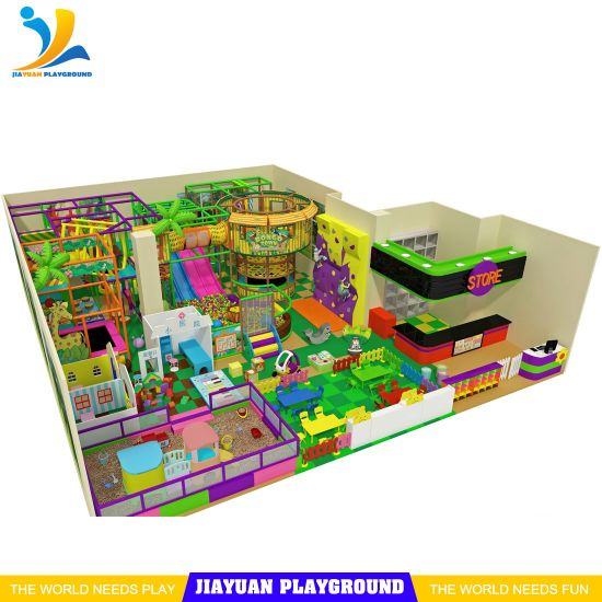 Future Family Entertainment Center, Kids Indoor Playground, Soft Play Area Equipment for Sale