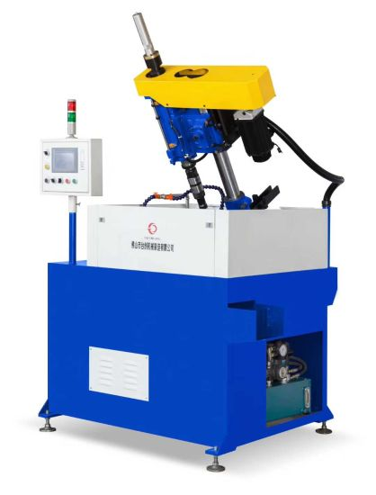 Non Standard Thread Rolling Machine Cold Heading Machine Automatic Small Size Minitype Furniture Nuts Threading Single Spindle Fasteners Nut Tapping Machine