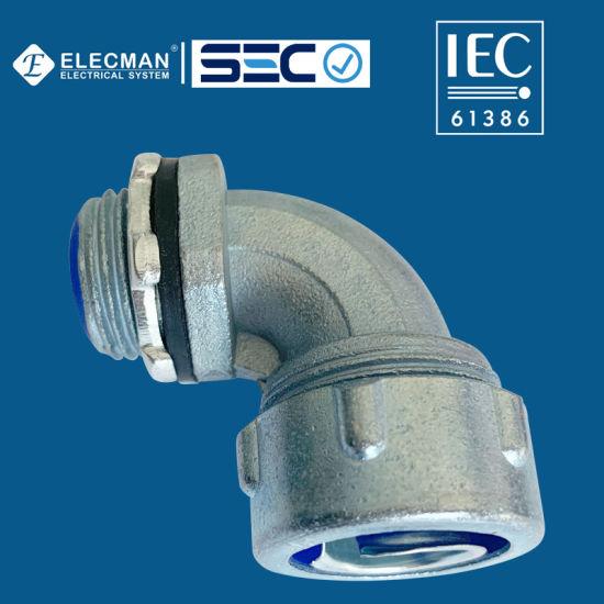 IEC 90 Degree Liquid Tight Connector