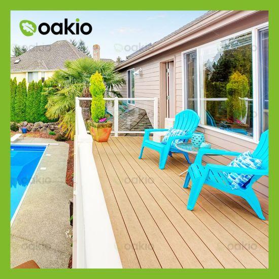 Wholesale Terrace Corrosion Resistant Wood Plastic Composite WPC Deck Fooring