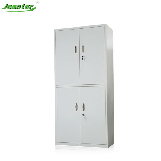 Office Furniture Metal Bookcase Storage Cabinet Swing Door Steel Filing Cabinet