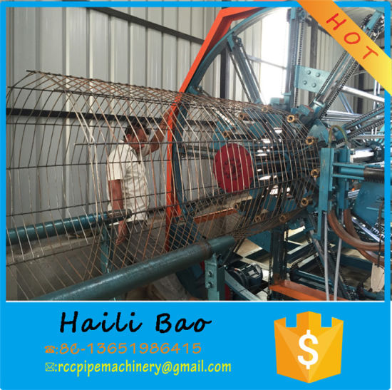 Water Cooling Mode Full-Automatic Rebar Cage Welding Machine pictures & photos