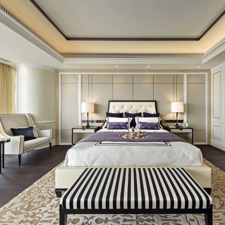 Hot Selling Wood Furniture 5 Star Hotel Bedroom Furniture