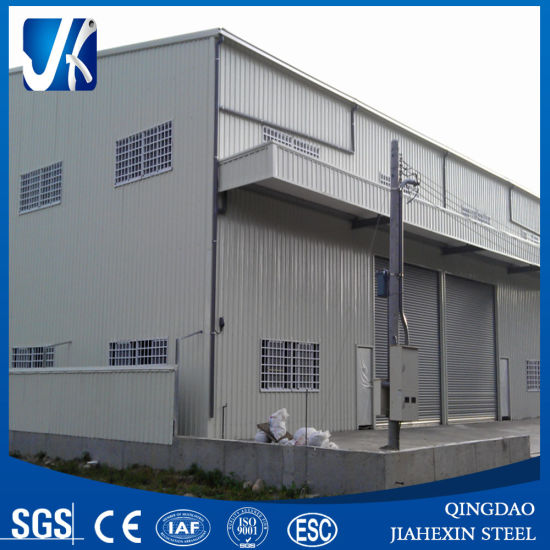 Light Steel Construction Prefabricated Warehouse Building pictures & photos