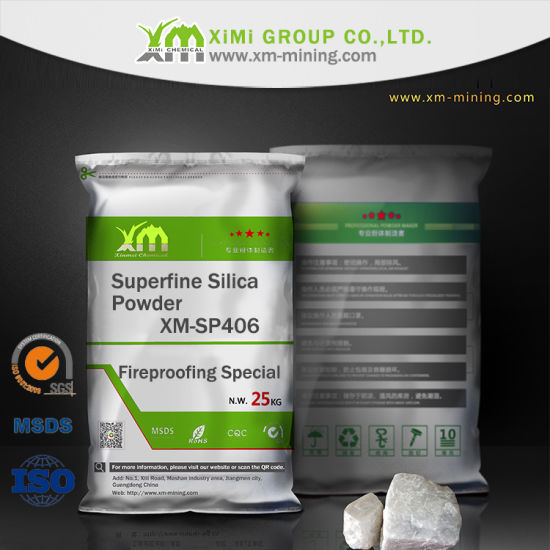 4-6 Micron Superfine Silica Powder for Fireproofing Special pictures & photos