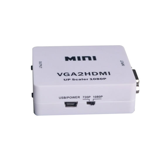 Mini VGA to HDMI Upscaler 1080P pictures & photos