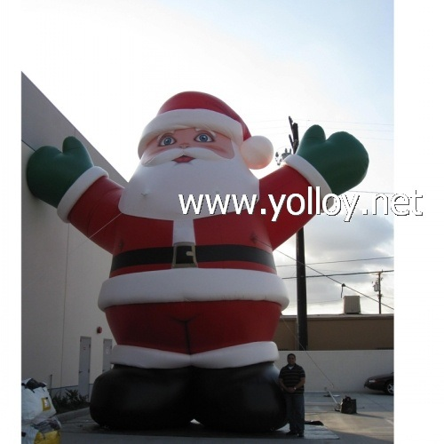 2019 Huge Santa Claus Inflatable Christmas Decoration pictures & photos