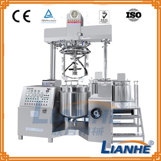 China Vacuum Emulsifier Homogenizer Mixing Machine for