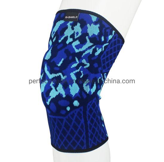 Sports Compression Knee-High Leg Sleeves Knee Brace