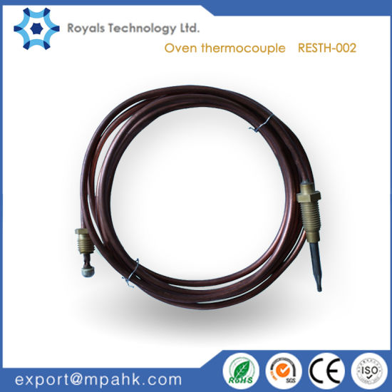 Safety Burner Gas Stove Oven Thermocouple Copper Gas Thermocouple Used on Fireplace Cooktop Stove BBQ Grill Thermocouple