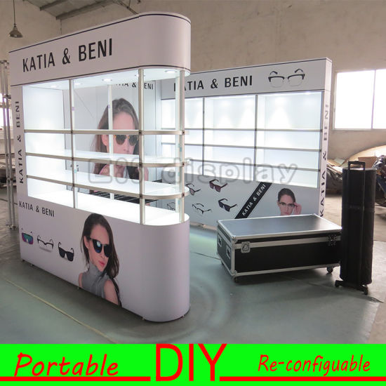 Exhibition Stand Transport : China custom portable modular photo exhibition stand display