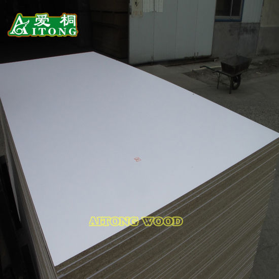 White Melamine Faced Particle Board