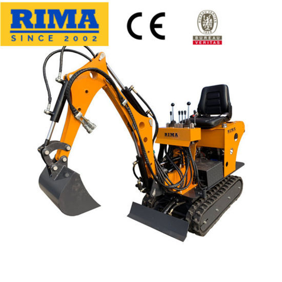 0.8ton/ 1 Ton/ 1.8ton Mini Crawler Earth Trenching Excavator