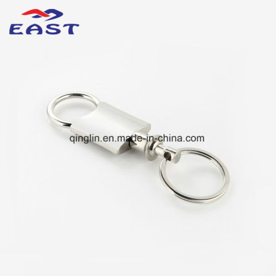 Customized Assorted Design Pull Apart Metal Keychain pictures & photos