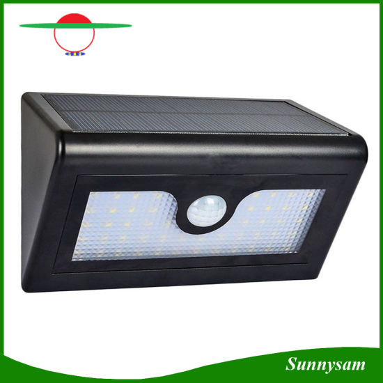 China 50 led solar powered outdoor wall mount wireless security 50 led solar powered outdoor wall mount wireless security lights motion activated solar light for garden patio deck yard path aloadofball