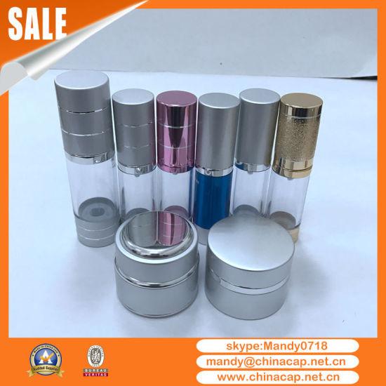 Wholesale Refillable Aluminum Cream Jars Cosmetic Lotion Bottles