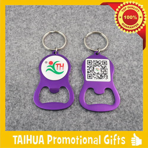 Custom Metal Bottle Opener with Keychain (TH-06924) pictures & photos