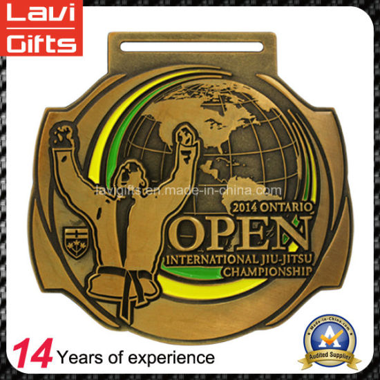 Top Sell Factory Price Custom Award Jiu-Jitsu Medal pictures & photos