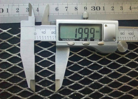 0.8mm Extendable Expanded Metal Mesh Aluminum Mesh