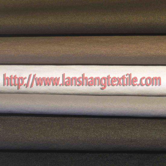 Chemical Fiber Nylon Dyed Spandex Fabric for Dress Coat Garment