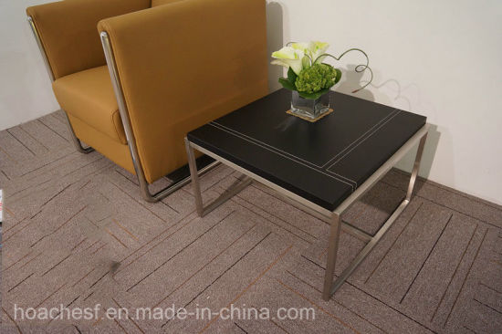 New Design High Good Quality Tea Table with PVC Leather (S209) pictures & photos