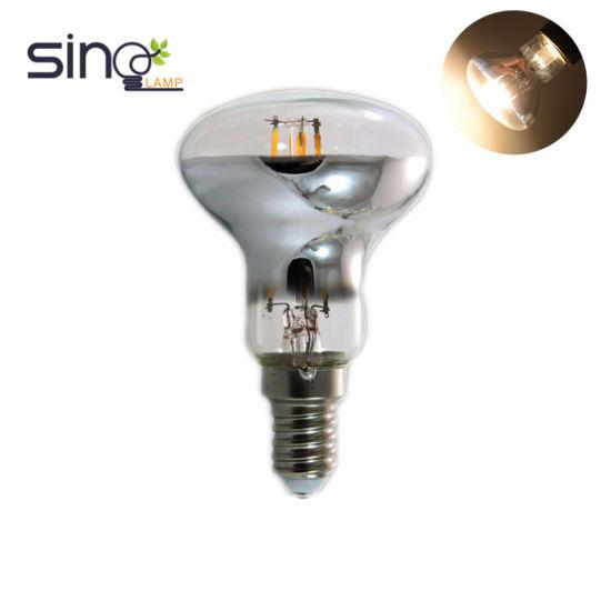 Screw Based Reflector LED Filament R63 AC85-265V 6W B22 Clear Bulb/Light/Lamp