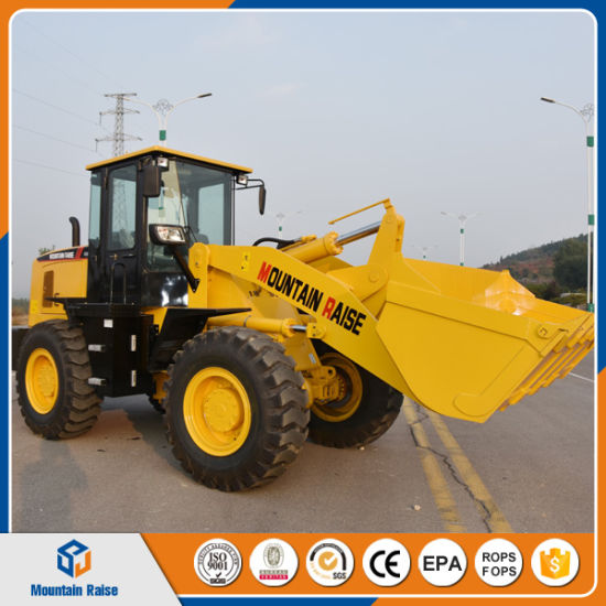 China 3ton Loader Price Wheel Loader Zl30 for Sale Construction Machinery pictures & photos