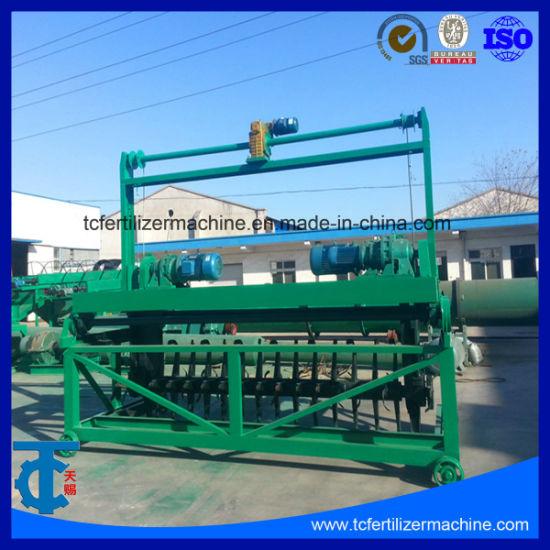 China Waste Compost Fertilizer Compost Turner On Sale China Compost Windrow Turner Fertilizer Fermentation Machine