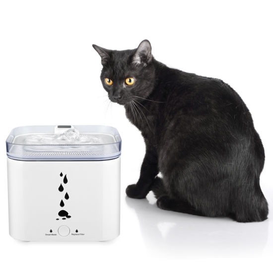 Animal Water Feeder with Infrared Sensor 2.75L Capacity for Cats and Small Dogs Pet Water Fountain