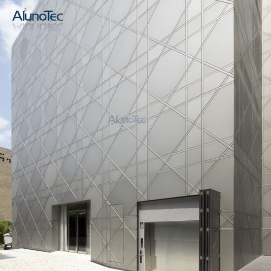 Cladding Systems Aluminum Wall Panels Exterior Perforated Facade Pictures Photos