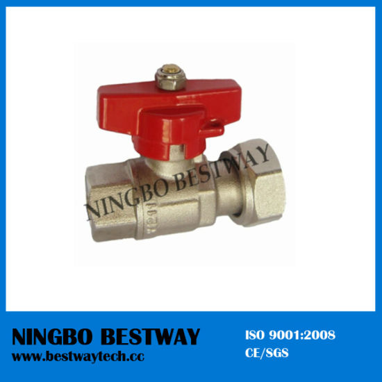 Brass Water Meter Ball Valve (BW-B28) pictures & photos
