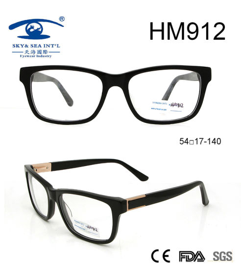 0a6acdfc585 New Arrival Hot Sell Glasses Acetate Optical Italian Eyewear (HM912)  pictures   photos