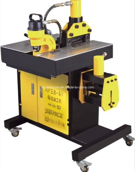 Hydraulic Busbar Punching Cutting Bending Processing Machine (HHM-150H/200H) pictures & photos