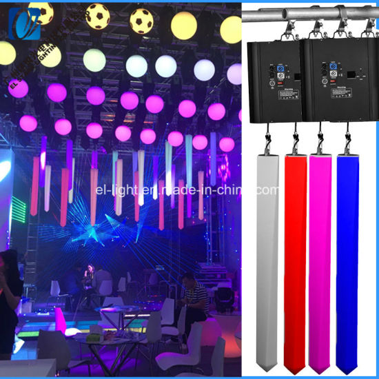 DMX LED Light Auto Lift Tube Ball Kinetic Light Best Price in Stock Always