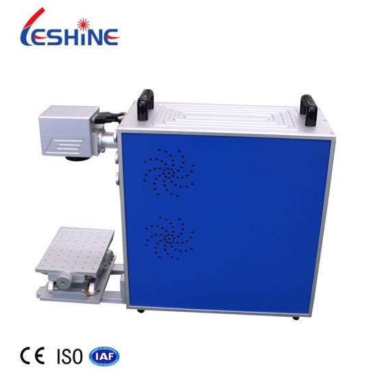 Metal Laser Marking Machine 20W 30W 50W Fiber Marking Machine Metal Engraving Machine Portable Mini Laser Metal Marking