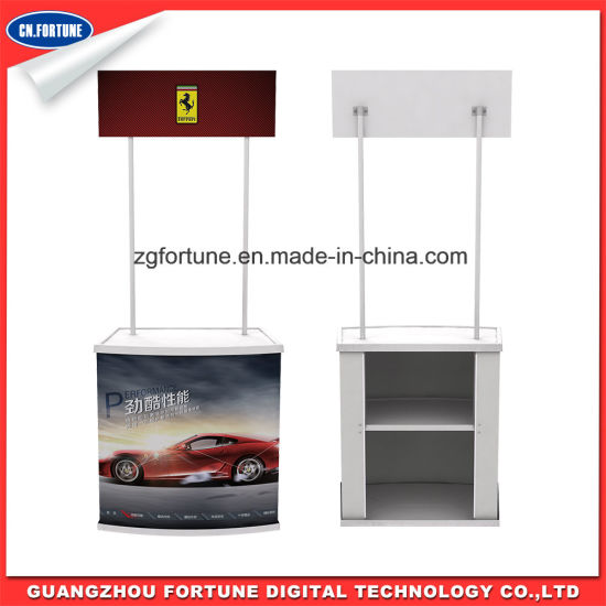 Good Quality Advertising Display Stand PP Promotion Table