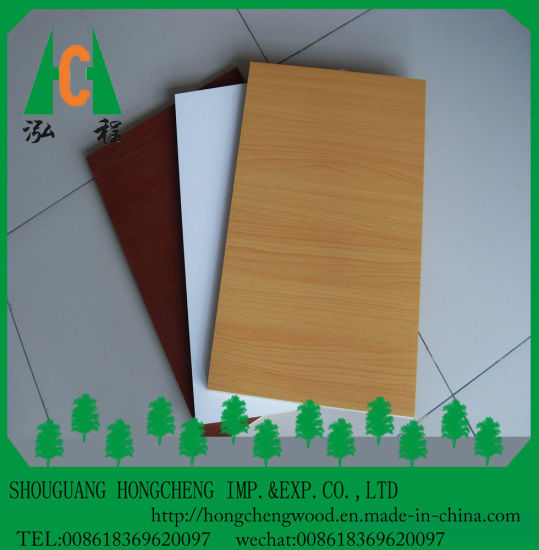 High Quality Melamine Faced MDF Board with Egdes Sealing pictures & photos