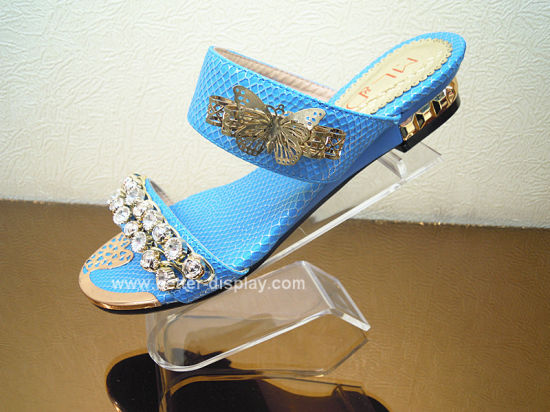 Acrylic Woman Shoe Display Holder Btr-G1008
