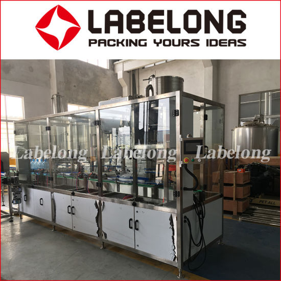 1200bph Automatic 5L/10L Big/Large Pet Bottle Pure/Drinking Water Filling/Bottling/Packing Machine