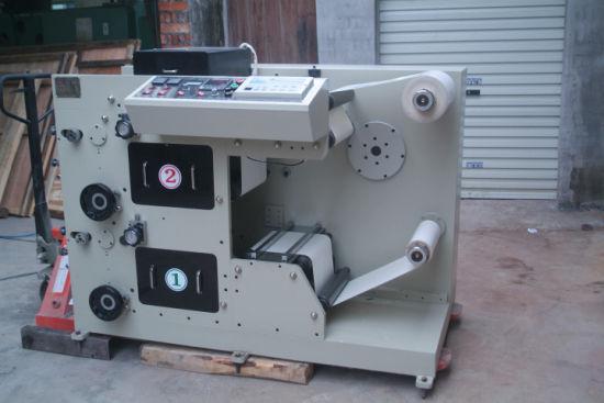 Rtry-420b 2 Color UV Dryer Flexo Printing Machine for Foil