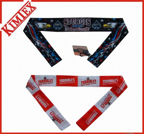 100% Polyester Promotion Sublimation Printing Cool Cravat pictures & photos
