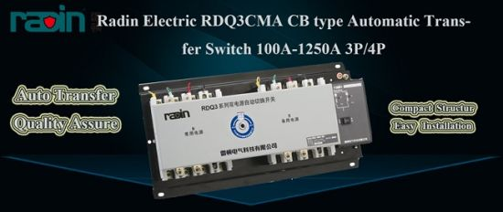 200 AMP Automatic Transfer Switch, 200A Auto Transfer Switch (RDQ3CMA-225) pictures & photos