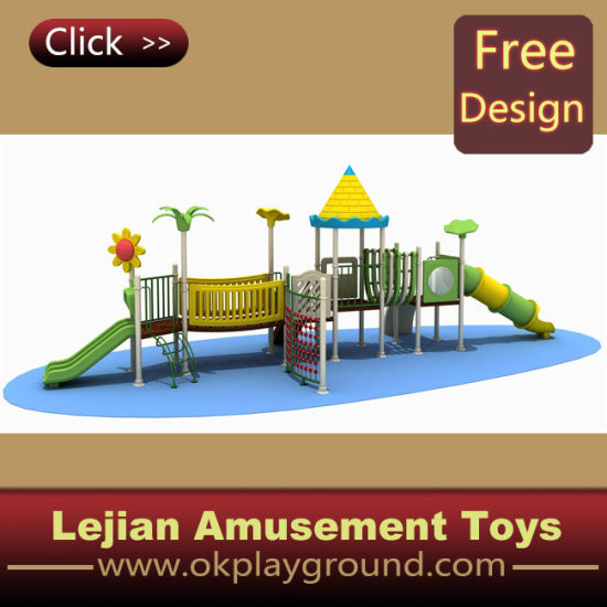 China En1176 Classical Kids Outdoor Plastic Playground For Park