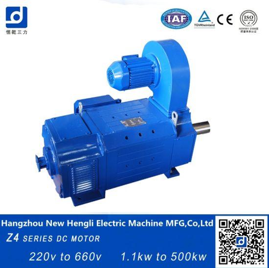 China New Hengli Z4-250-41 220kw 1500rpm DC Electric Motor