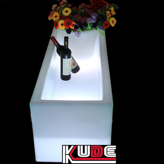 LED Planter Battery Operated Decor Garden Pots with Remote Control