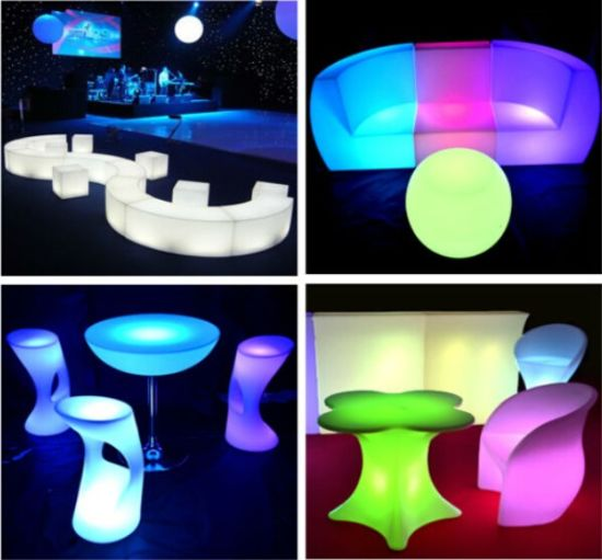New Color Changing Rechargeable LED Furniture (YS-1901)
