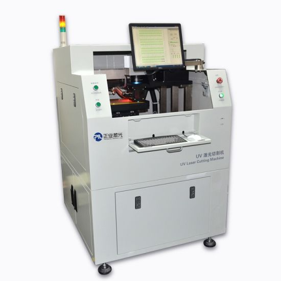 China Laser Cut PCB, Industrial CNC UV Laser Cutting Machine